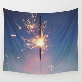Perhaps We Are Wishing For Each Other Upon The Same Star Wall Tapestry