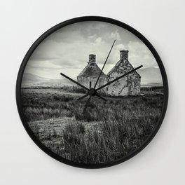 The Abandoned House II Wall Clock