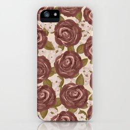 Marsala iPhone Case