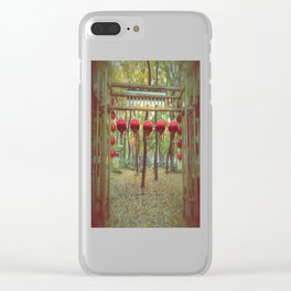 Suzhou, China in the Fall Clear iPhone Case