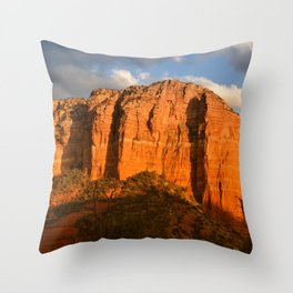 COURTHOUSE ROCK - SEDONA ARIZONA - 3 Throw Pillow