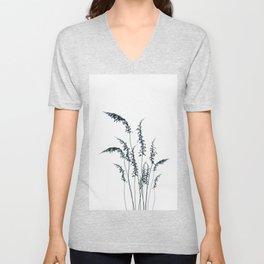 Wild grasses Unisex V-Neck