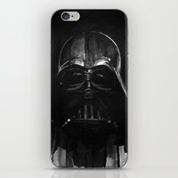 darth iPhone & iPod Skins featuring Darth by H.E.art