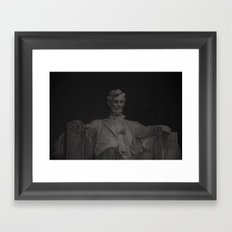 Lincoln (redux) Framed Art Print