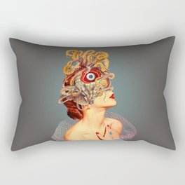 Freud vs Jung Rectangular Pillow