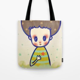 the little star in my heart Tote Bag