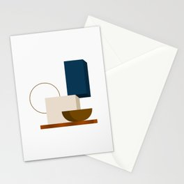 Abstrato 01 // Abstract Geometry Minimalist Illustration Stationery Cards