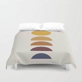 Minimal Sunrise / Sunset Duvet Cover