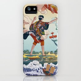 Ukiyo-e tale: The legend iPhone Case