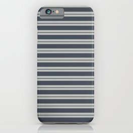 Benjamin Moore 2019 Trending Color Hale Navy Blue Gray HC-154 and Color of the Year 2019 Metropolita iPhone Case