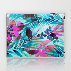 Colorful tropical leaves Laptop & iPad Skin