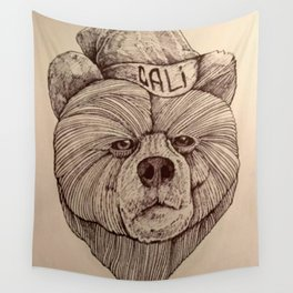 Cali Bear Wall Tapestry