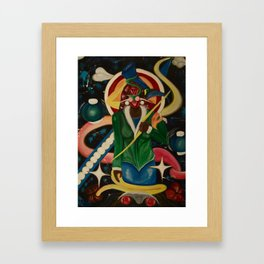Shani the Invincible  Framed Art Print