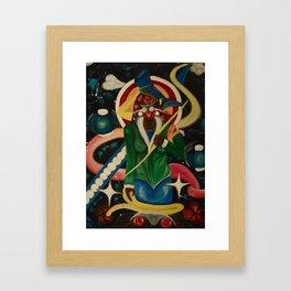 Shani the Invincible  Framed Art Print