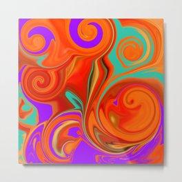 vortices in color Metal Print