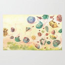 Snails paradise Rug