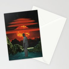 The World Was Beautiful On Fire Stationery Cards