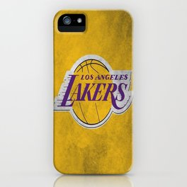 Los Angeles Laker iPhone Case