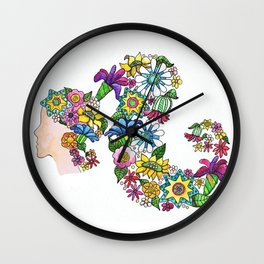 Blooming Wall Clock