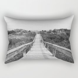 Tybee Island Beach Dock Rectangular Pillow