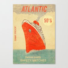 Atlantic Safety Matches  Canvas Print