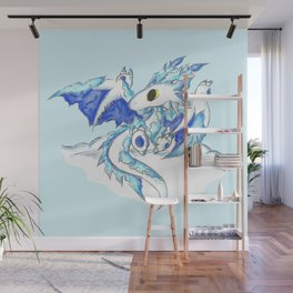 Baby Ice Wyvern Wall Mural