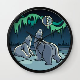 Arctic Art  Wall Clock