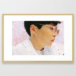 xiumin Framed Art Print