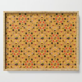 ALL YOU CAN EAT WALLPAPER 2 Serving Tray