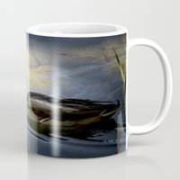 duck Mugs featuring Duck by B.P.