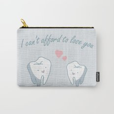 Teeth in Love  Carry-All Pouch