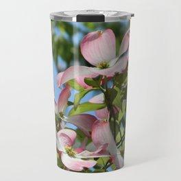 Pink dogwood 3 #spring #easter Travel Mug