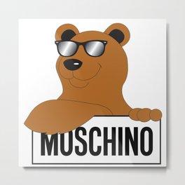 moschino cool bear Metal Print