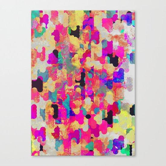 Neon Tambourine Canvas Print