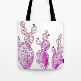 Cactus 42 pink Tote Bag