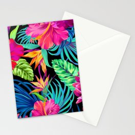 Drive You Mad Hibiscus Pattern Stationery Cards