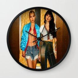 Kehlani x Hayley Kiyoko Wall Clock
