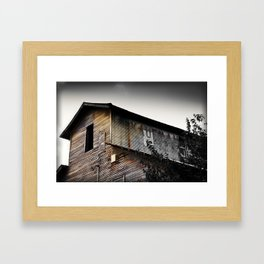 Kaufman Depot Framed Art Print