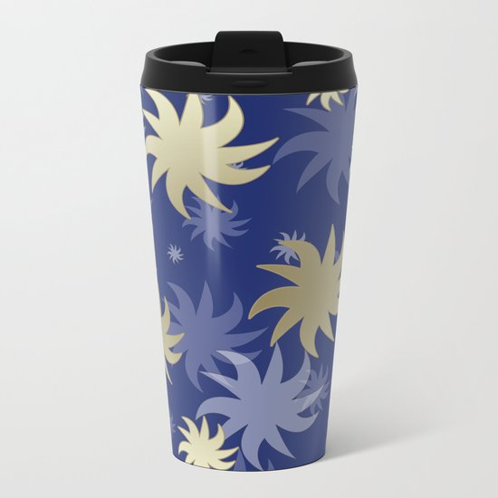 CHRISTMAS STARS 02 Metal Travel Mug