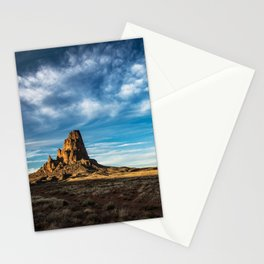 Somewhere In Time - Western Scenery of Agaltha Peak in Northern Arizona Stationery Cards