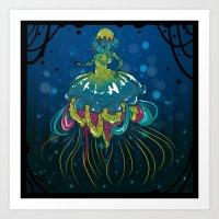 Jelly Girl Art Print