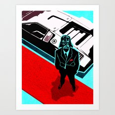Darth Lambo Art Print