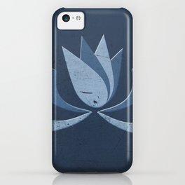 Spirit Flower -Blue- iPhone Case
