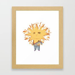 Summer Son Framed Art Print