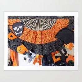 Halloween Swag Art Print