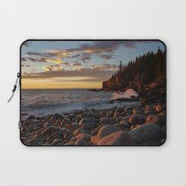 Sunrise at Otter Cliff III Laptop Sleeve