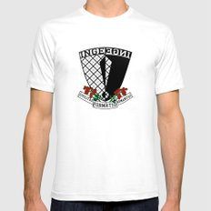 Coat of Arms of Inge White Mens Fitted Tee SMALL