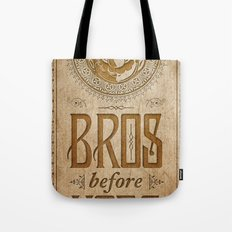 Super Mario Bros Before Hoes. Vintage Paper Banner. Tote Bag