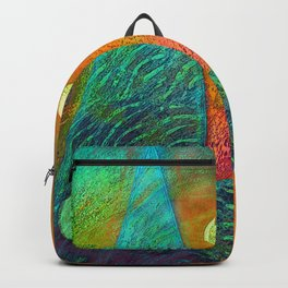Colorful Mermaid Tail Backpack