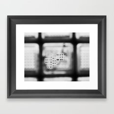 BLOCK Framed Art Print